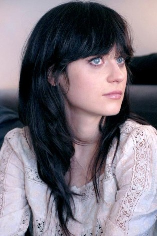 Zooey-Deschanel-Long-Hairstyle-Straight-Black-Haircut